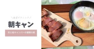 【ほぼピクニック】初心者キャンパーが優雅に朝キャンしてきた【おすすめテント】